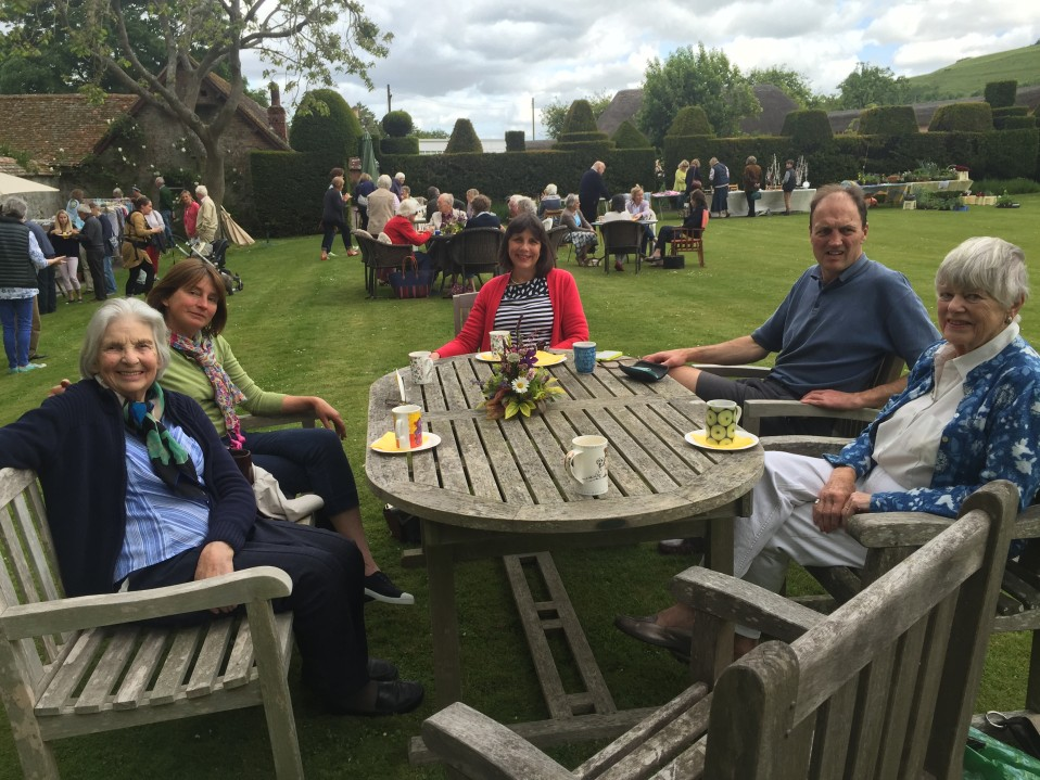 Open Garden at Knighton Manor a huge success!