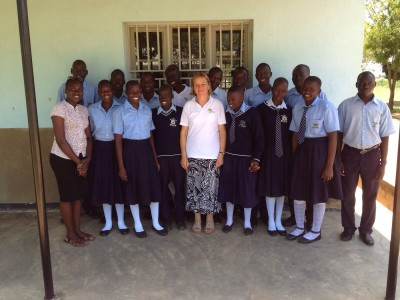 A day of visiting schools & sponsored children