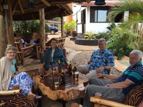 CRESS UK team are back in Uganda
