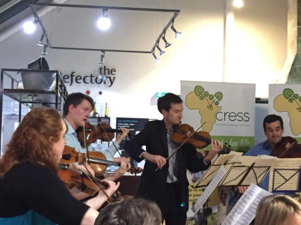 A whirlwind of activity at CRESS