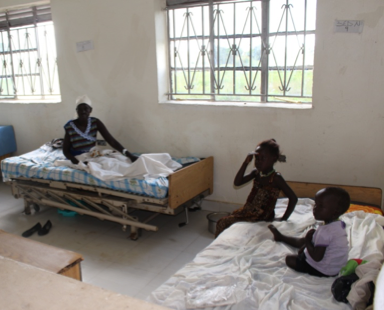 This summer in South Sudan I caught Malaria