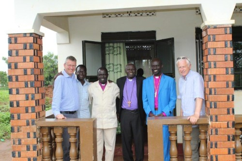 Visiting CRESS office in Arua