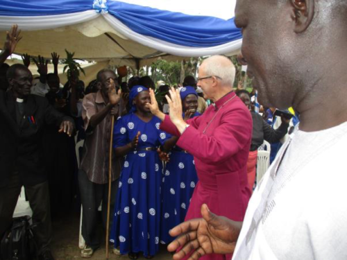 Fred Taban reflects on visit of Archbishop