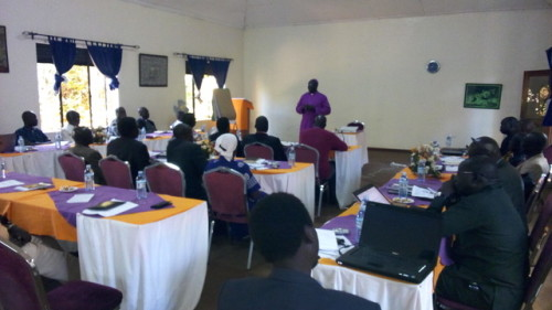Bishops of the Central Equatorial Internal Province meeting