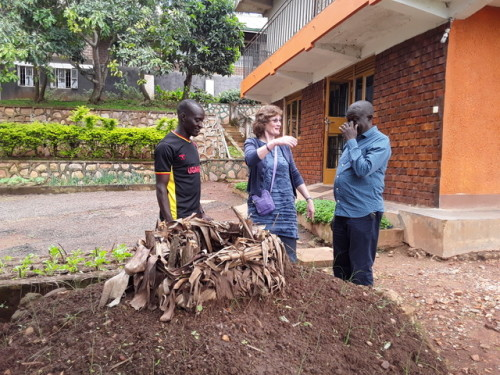 Olivia visits the Kasenge Riverford Organic Centre