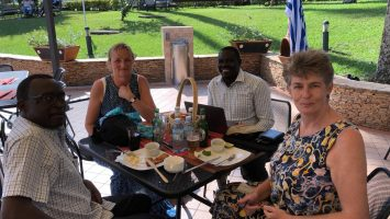 Trip Blog News Update from Entebbe