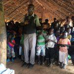 Teacher at bush school in Gabor, Uganda