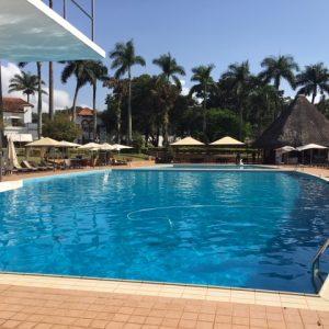 Pool in Uganda