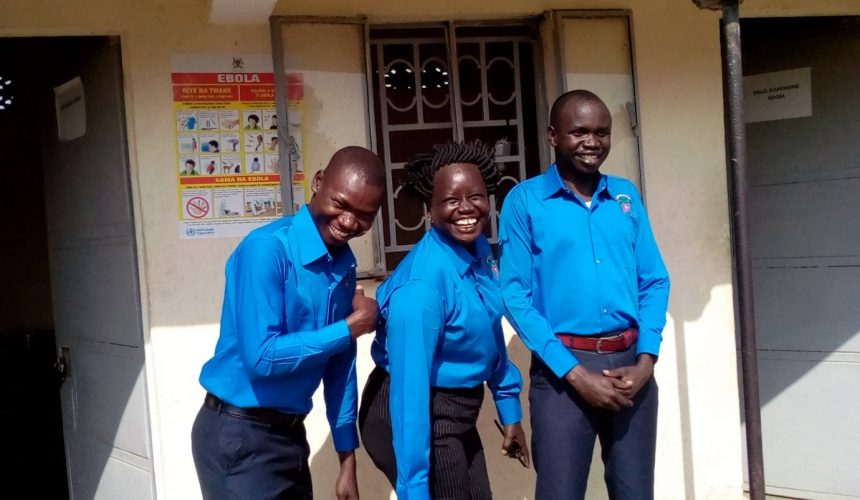 New Uniforms for Clinic Staff
