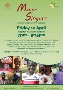Manor Singers Flyer