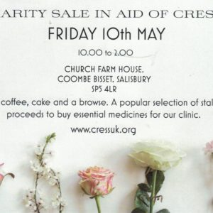 Charity Sale in Aid of CRESS