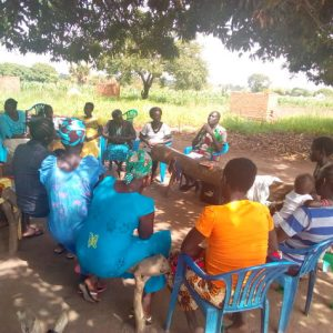 Training on mosquito net use, hygiene and sanitation and family planning