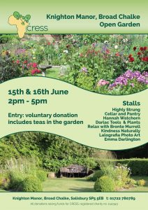 Open Garden - Knighton Manor - June 15th & 16th 2019