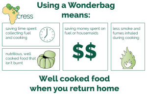 Wonderbag - an eco friendly, portable slow cooker that gives you the healthiest meals possible.
