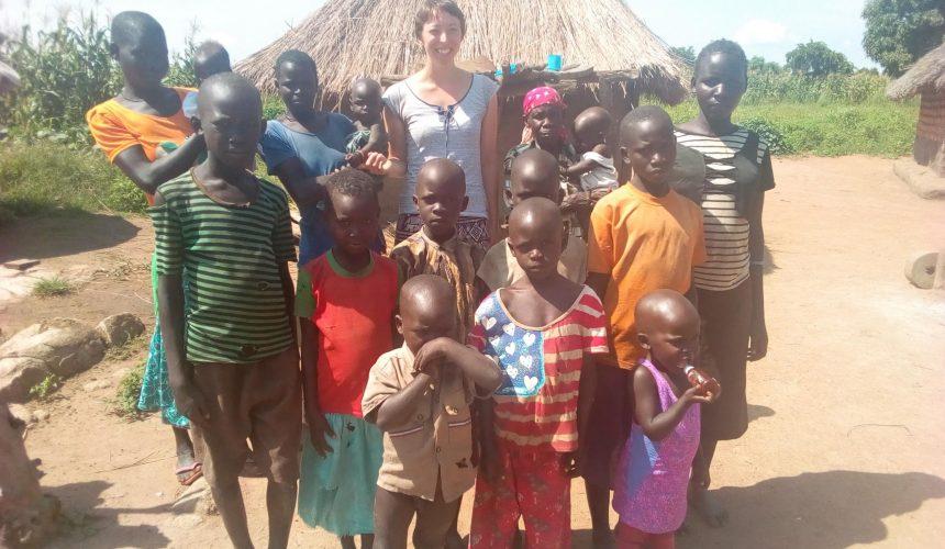 Melanie in Uganda
