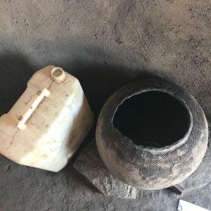 Traditional water pot in Uganda