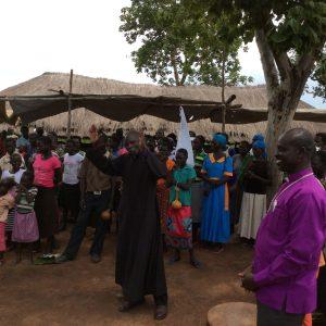Celebration in Gabor with Rev Elly