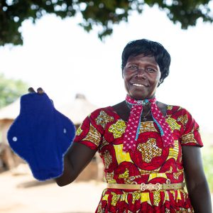 RUMPS - making reusable menstural pads in Uganda