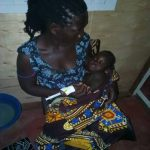 Eunice when she arrived very ill
