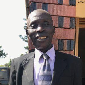 Security Guard Afeku Peter