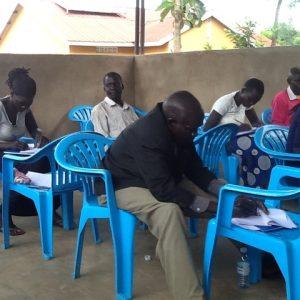 Bush school teachers receiving training
