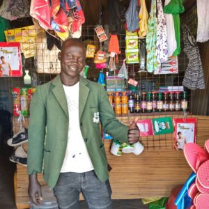 Business loans though savings groups in Uganda for Sam Ladu