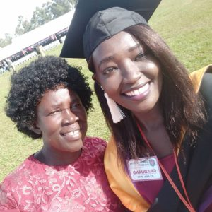 CRESS graduate starts job near Juba