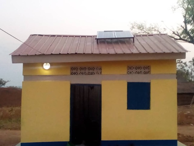 Solar Power for Clinic Tukals