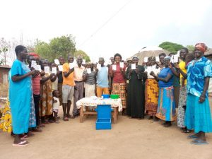 Savings groups materials recieved in Mijale