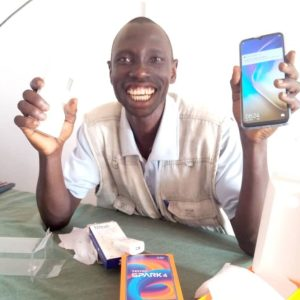 CATT Counsellor Receives Phone