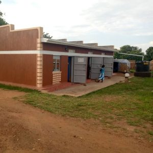 Rainwater harvest system at the clinic
