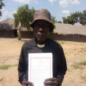 Rev. Alfred Yata - Impevi Camp