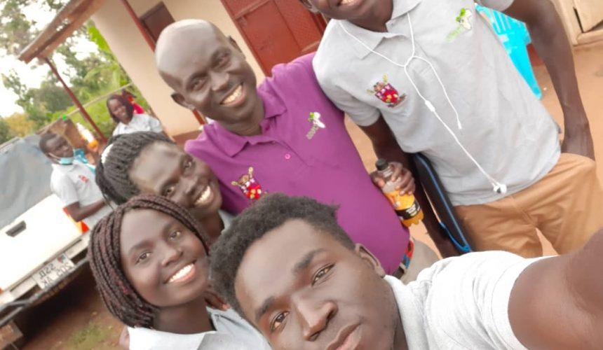 Students weekend with Bishop Joseph