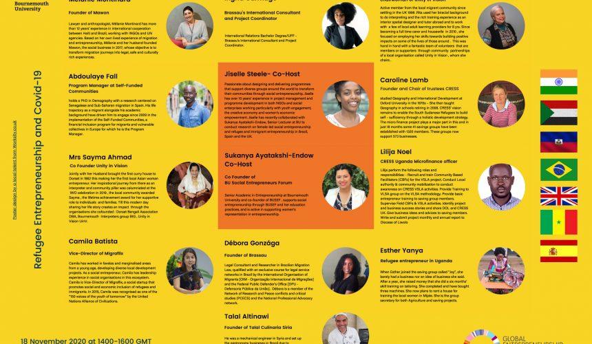 18th November – Bournemouth University's Social Entrepreneurs Forum