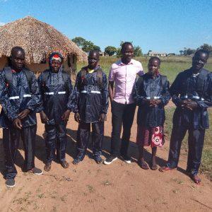 Community Business Facilitators receive field items