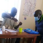 Training on delivering Vitamin A
