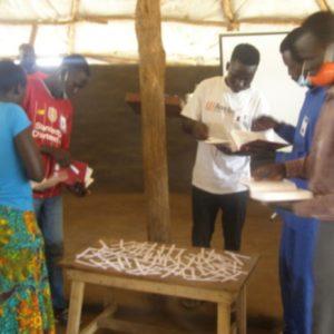 Bible shorting competition at Gole ko Mugun Church