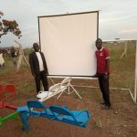 Joel and Scopas Set up Jesus Film
