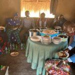Christmas meal in Imvepi Refugee Settlement
