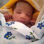 Baby girl delivered