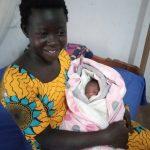 Mum and new baby girl