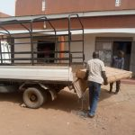 Offloading the beds on arrival at the clinic