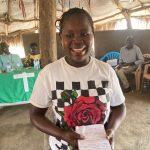 Angudeyo Alice member of God's will savings group