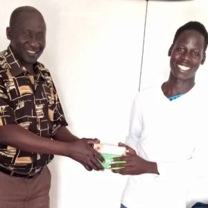Thank you so much MR. DOA Samuel for the safety journey right from Arua to Mijale along with my phone funded by Caroline Lamb. God bless you abundantly.
