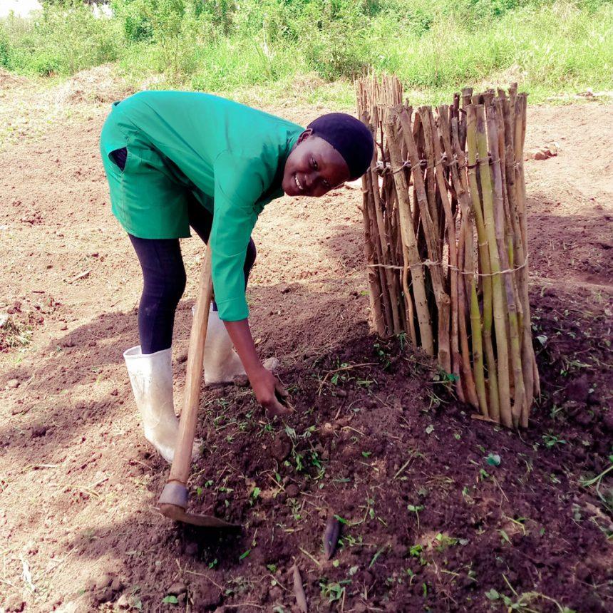 Evaline Poni – creating a kitchen garden