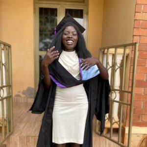 Viktoria Modong Graduating