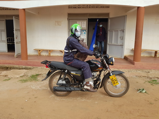 New Clinic Motorcycle