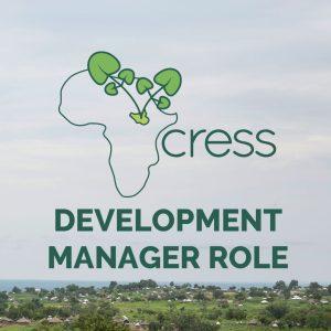JOB: Development Manager role at CRESS