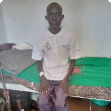 Duku Samuel on recovery